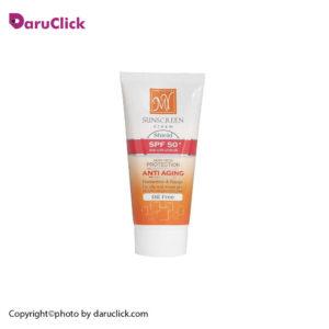 کرم ضد آفتاب ضد چروک فاقد چربی فاقد رنگ SPF 50 مای