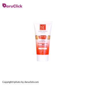 کرم ضد آفتاب فاقد چربی رنگی SPF60 مای
