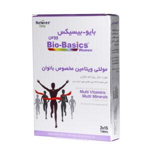 قرص مولتی ویتامین بایوبیسیکس نیچرز اونلی