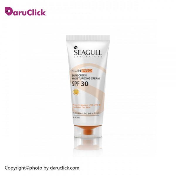 Seagull Sunpro Moisturizing Sunscreen Cream SPF30