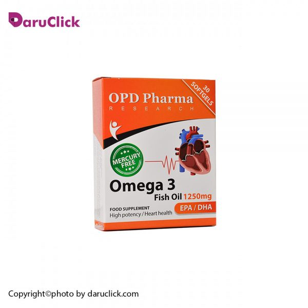 Omega 3 Fish Oil 1250 mg