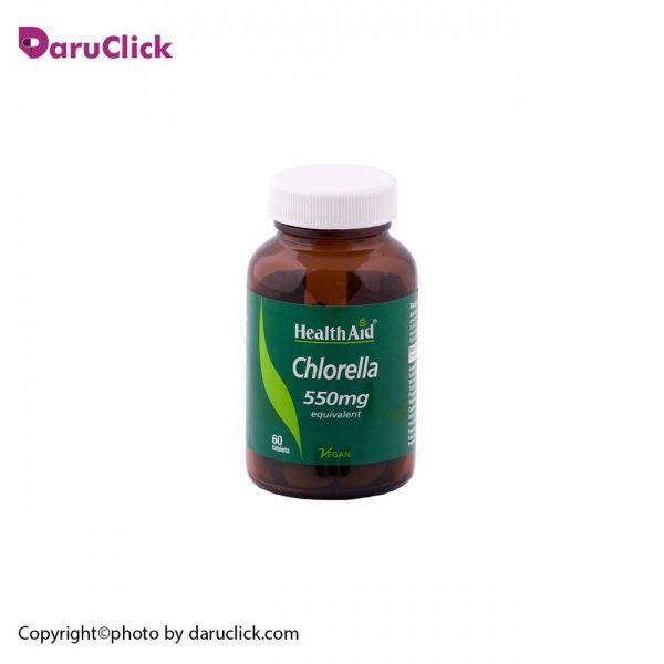 Health Aid chlorella 550 mg Tabs