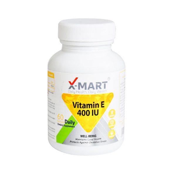سافت ژل ویتامین E 400 ایکس مارت