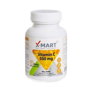 قرص ویتامین C 500 میلی گرم ایکس مارت