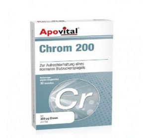 Apovital Chrom 200 Mc Tabs