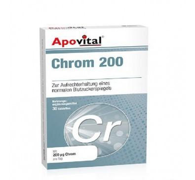 Apovital Chrom 200 Mc Tabs