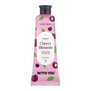 کرم  مرطوبکننده دست عصاره شکوفه گیلاس ویت یو