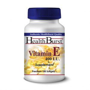 کپسول ژلاتینی ویتامین E هلث برست