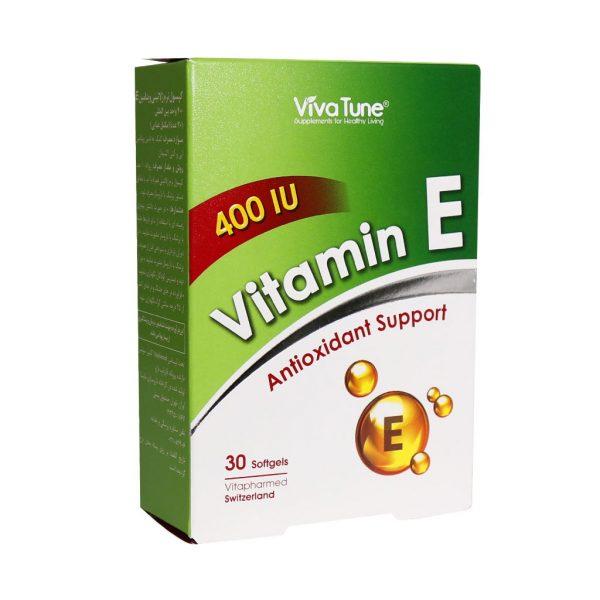 کپسول ژلاتینی ویتامین E 400 ویواتیون