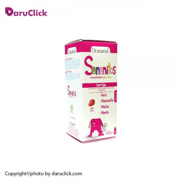 شربت ضد نفخ کودکان سانانیتوس