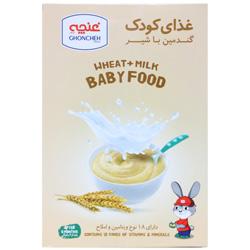 غذای کودک گندمین با شیر غنچه پرور