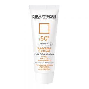ضد آفتاب بی رنگ فاقد چربی SPF50+ درماتیپیک