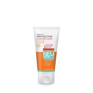 کرم ضد آفتاب هایلی پروتکتیو نئودرم SPF50