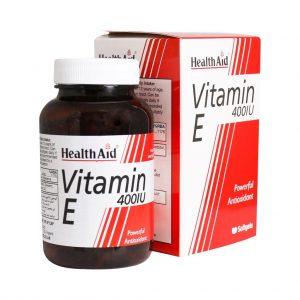 کپسول ویتامین ای 400 هلث اید