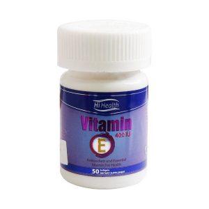 سافت ژل ویتامین E های هلث