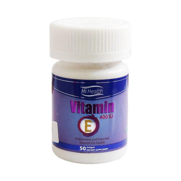 سافت ژل ویتامین E های هلث | داروکیلیک