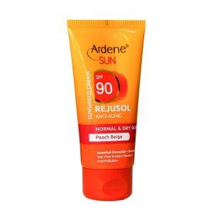 کرم ضد آفتاب رنگی SPF90 سان آردن (پوست معمولی و خشک)