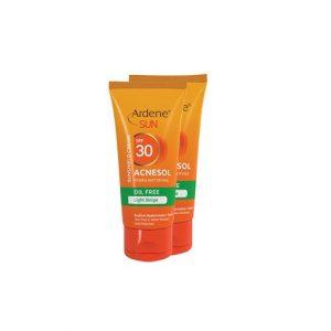 کرم ضد آفتاب ملاسول SPF30 سان آردن