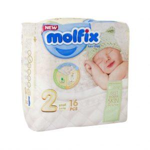 پوشک سایز 2 کودکان 3 تا 6 کیلوگرم مولفیکس