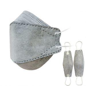 ماسک سه بعدی طوسی یونیک