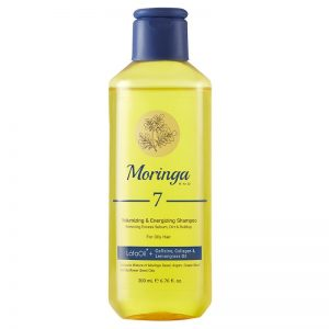 شامپو حجمدهنده و انرژیبخش مورینگا امو مناسب موهای چرب کد 7