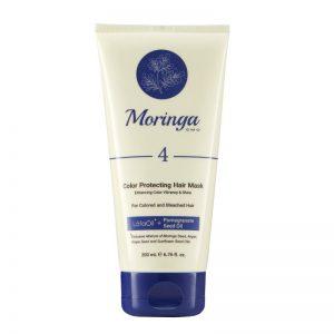 ماسک مو مراقبت از رنگ مورینگا امو 200ml مناسب موهای رنگ شده و دکلره کد 4