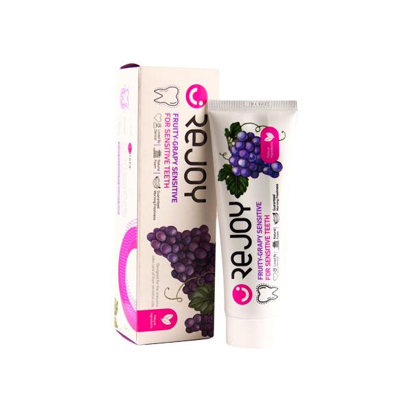 خمیردندان مناسب دندان و لثه حساس حاوی عصاره انگور ریجوی