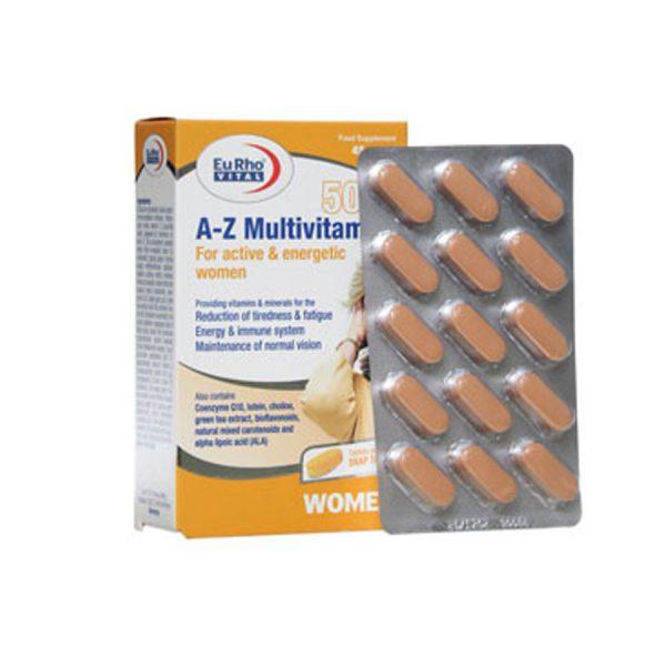A Z مولتی ویتامین بالای 50 سال بانوان