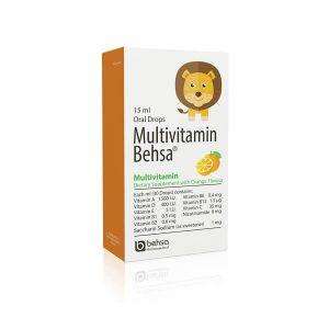 قطره خوراکی مولتی ویتامین 15 میلی لیتر بهسا